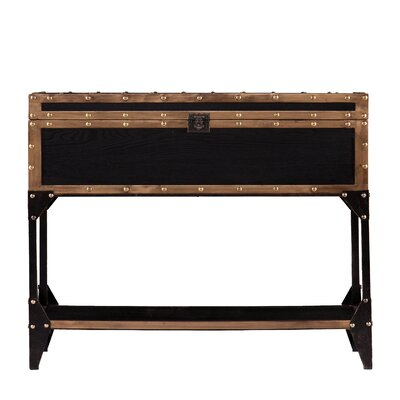 Traci Travel Trunk Console Table