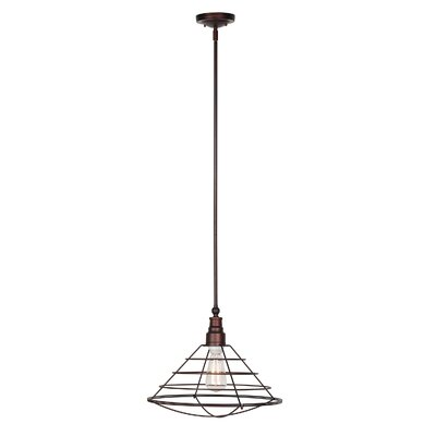 1-Light Foyer Pendant Finish: Textured Coffee Bronze