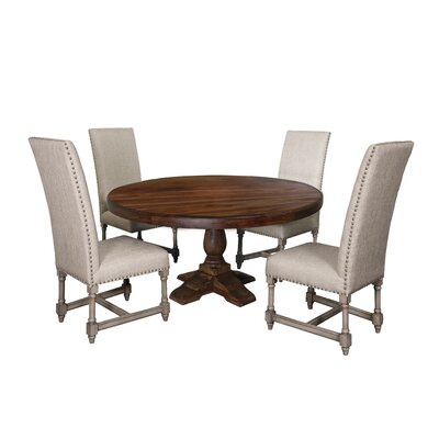 Carbone 5 Piece Dining Set