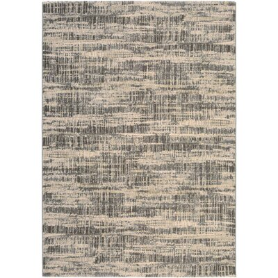 Covina Antique Cream/Teal Area Rug Rug Size: 37 x 53