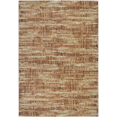 Covina Cream/Salmon Area Rug Rug Size: Runner 27 x 71