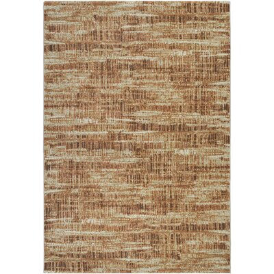 Covina Cream/Salmon Area Rug Rug Size: Rectangle 66 x 96