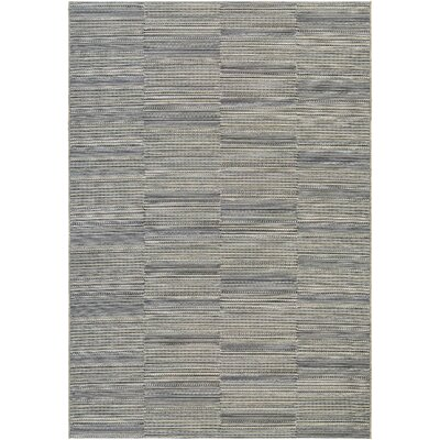 Haubrich Black/Tan Indoor/Outdoor Area Rug Rug Size: Runner 23 x 119
