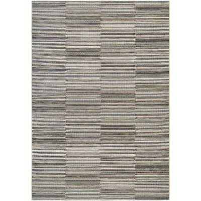 Napa Black/Gold Indoor/Outdoor Area Rug Rug Size: Runner 23 x 119