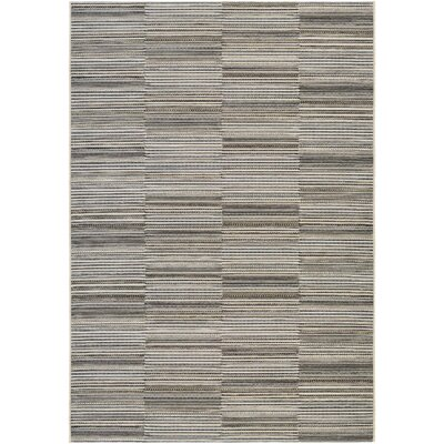 Napa Black/Gold Indoor/Outdoor Area Rug Rug Size: Runner 23 x 710