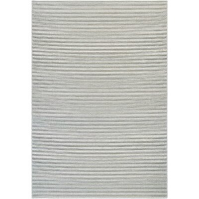 Napa Light Blue/Greyish Silver Indoor/Outdoor Area Rug Rug Size: Rectangle 2 x 37