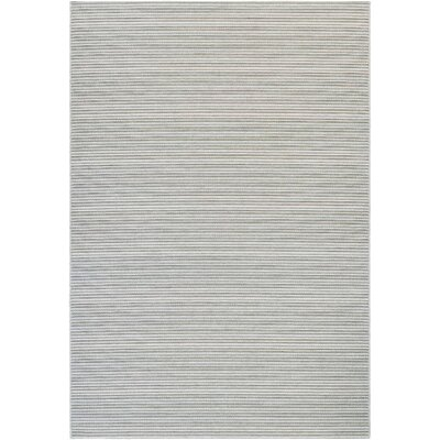 Napa Light Blue/Greyish Silver Indoor/Outdoor Area Rug Rug Size: Runner 23 x 119