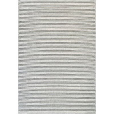Napa Light Blue/Greyish Silver Indoor/Outdoor Area Rug Rug Size: Runner 2'3