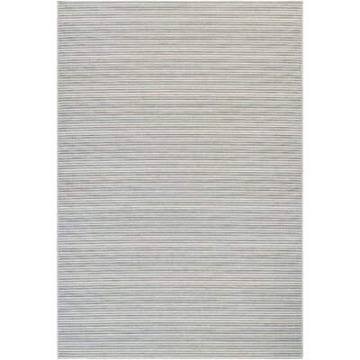Napa Light Blue/Greyish Silver Indoor/Outdoor Area Rug Rug Size: 710 x 109