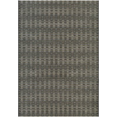 Napa Brown/Gray Indoor/Outdoor Area Rug Rug Size: Rectangle 710 x 109