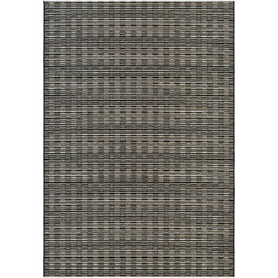 Napa Brown/Gray Indoor/Outdoor Area Rug Rug Size: 66 x 96