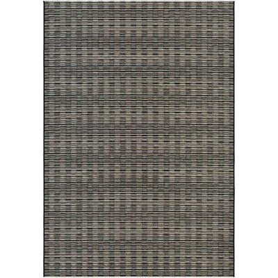 Napa Brown/Gray Indoor/Outdoor Area Rug Rug Size: 710 x 109