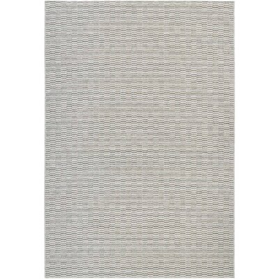 Napa Light Blue/Silver Indoor/Outdoor Area Rug Rug Size: 66 x 96