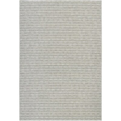 Napa Light Blue/Silver Indoor/Outdoor Area Rug Rug Size: Rectangle 6'6