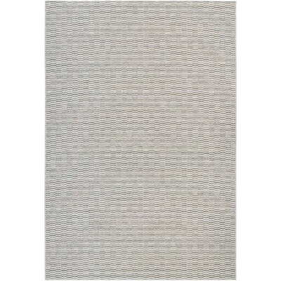 Napa Light Blue/Silver Indoor/Outdoor Area Rug Rug Size: 311 x 56
