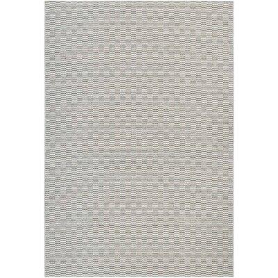 Napa Light Blue/Silver Indoor/Outdoor Area Rug Rug Size: 710 x 109