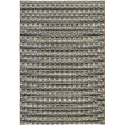 Napa Black Indoor/Outdoor Area Rug Rug Size: Rectangle 2 x 37