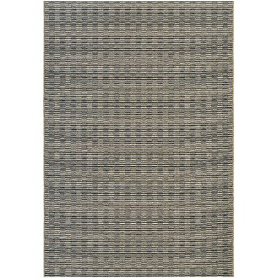 Napa Black Indoor/Outdoor Area Rug Rug Size: Runner 23 x 71