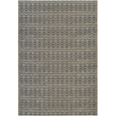 Napa Black Indoor/Outdoor Area Rug Rug Size: 53 x 76