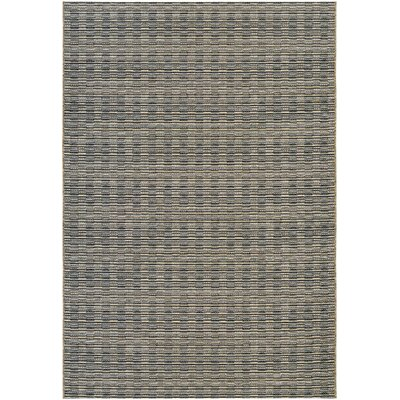 Napa Black Indoor/Outdoor Area Rug Rug Size: Runner 23 x 119