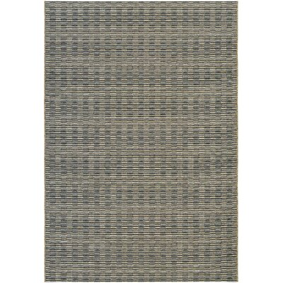 Napa Black Indoor/Outdoor Area Rug Rug Size: Rectangle 710 x 109