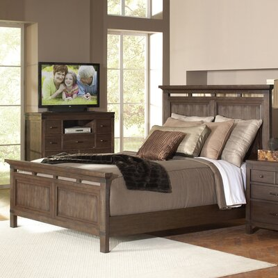 Colfax Brown Panel Bed