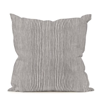 Nori Pewter Throw Pillow