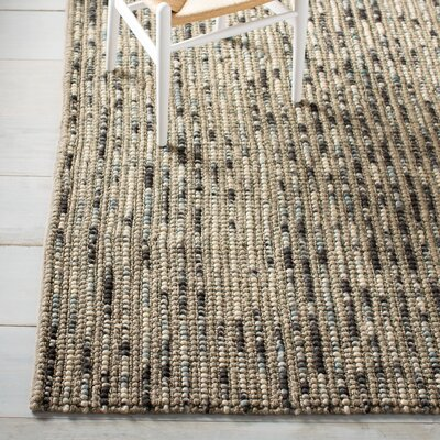 Silvia Hand-Wovn Natural Area Rug Rug Size: Rectangle 26 x 4
