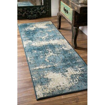 Stewiacke Blue Area Rug Rug Size: Runner 28 x 711