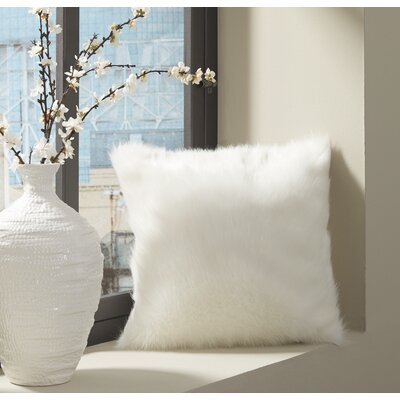 Radner Throw Pillow Color: White
