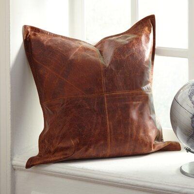 Buena Vista Pillow Cover Color: Brown