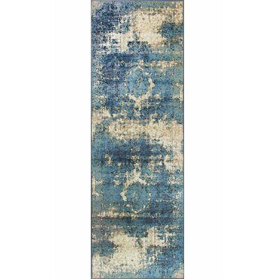 Montross Blue Area Rug Rug Size: Rectangle 53 x 78