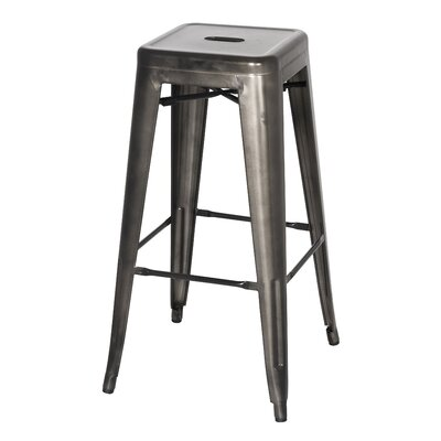Ellery 30 Bar Stool Color: Gun Metal