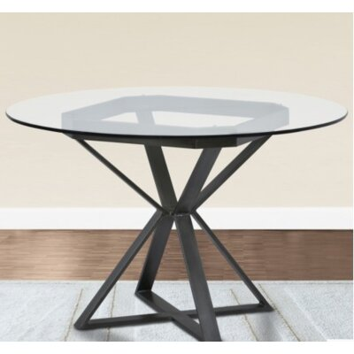 Madalyn Dining Table Base Finish: Mineral