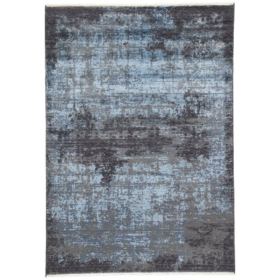 Cayeman Blue Nights/Moonlight Blue Area Rug Rug Size: 2 x 3