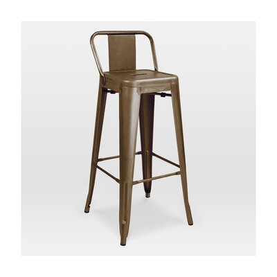 Halie 29.5 Bar Stool Finish: Rustic Matte