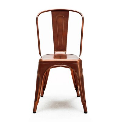 Halie Side Chair Finish: Vintage Copper