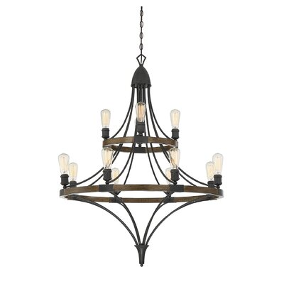 Muir 12-Light Chandelier