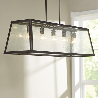 Marlowe 5-Light Kitchen Island Pendant Finish: Oil Rubbed Bronze