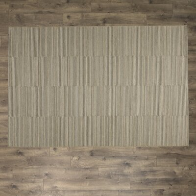 Napa Light Blue and Gold Indoor/Outdoor Area Rug Rug Size: Rectangle 311 x 56