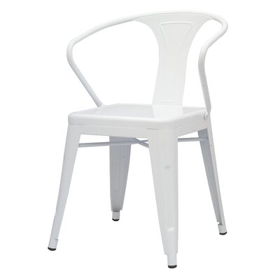 Ellery Side Chair Finish: White