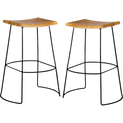 Coan 30 Bar Stool Finish: Natural Mango