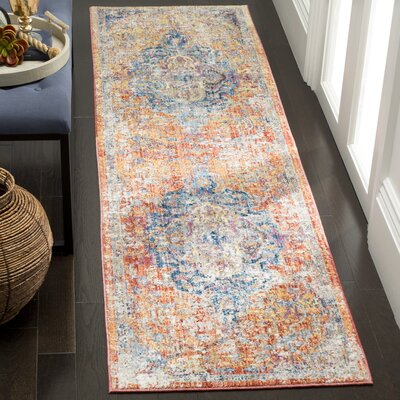 Arapaho Orange Area Rug Rug Size: Runner 23 x 6