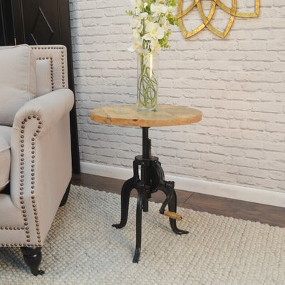 Waterford End Table Top Finish: Natural