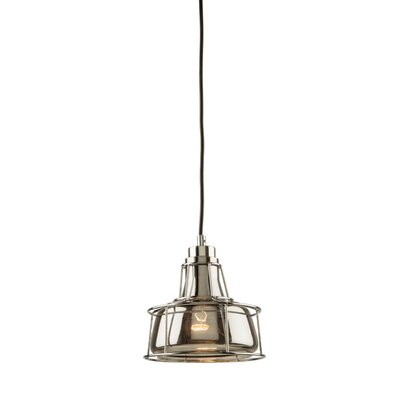 Gladys 1-Light Chrome Mini Pendant