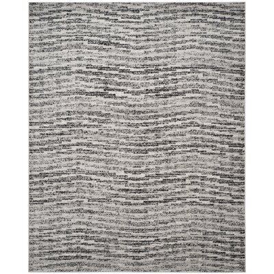 Millbrae Black/Beige Area Rug Rug Size: Rectangle 8 x 10