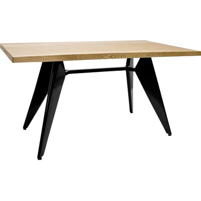 Halie Dining Table Top Finish: Ash, Size: 70