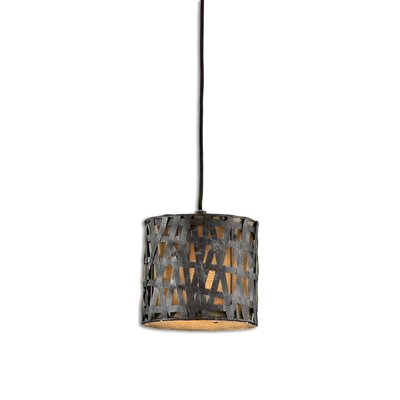 Spiritwind 1-Light Mini Pendant Finish: Rust Black