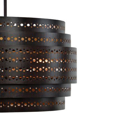 Borden 3-Light Drum Chandelier
