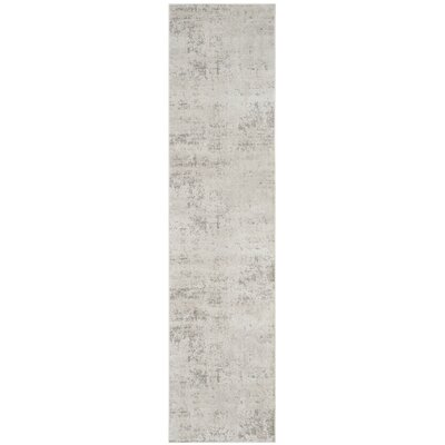 Conway Beige/Gray Area Rug Rug Size: Runner 2 x 10